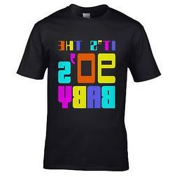 It's The 90s Baby T-Shirt - Fancy Dress 1990s Retro Dance Di