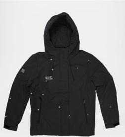 Sever Apparel Jacket Fashionable Wind-protection Dense Black