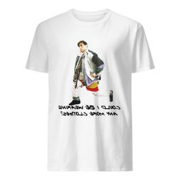 Joey Could I Be Wearing Any More Clothes T shirt Funny Cotto