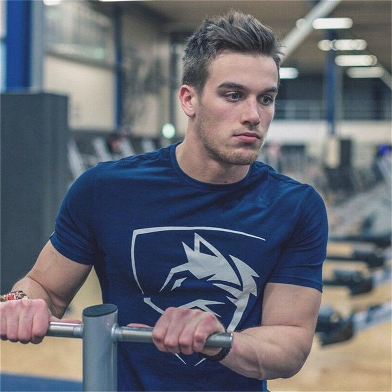 Men Fitness Fit Tee