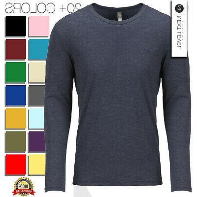 apparel mens t shirt triblend long sleeve