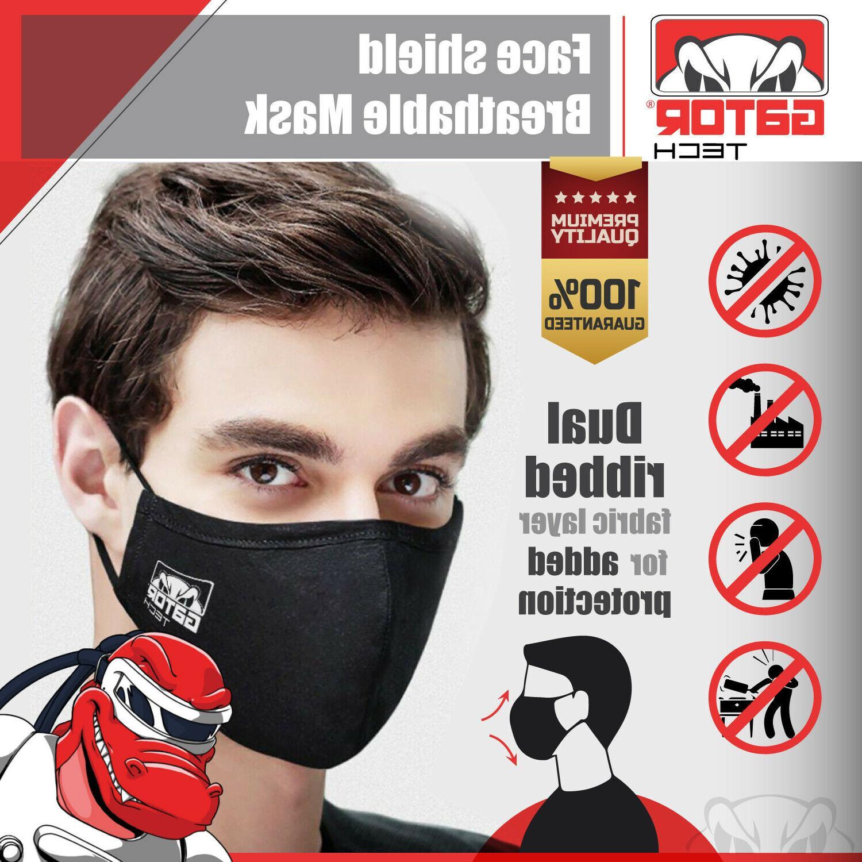 Cloth Fabric Face Mask Reusable Washable Fashion Unisex US