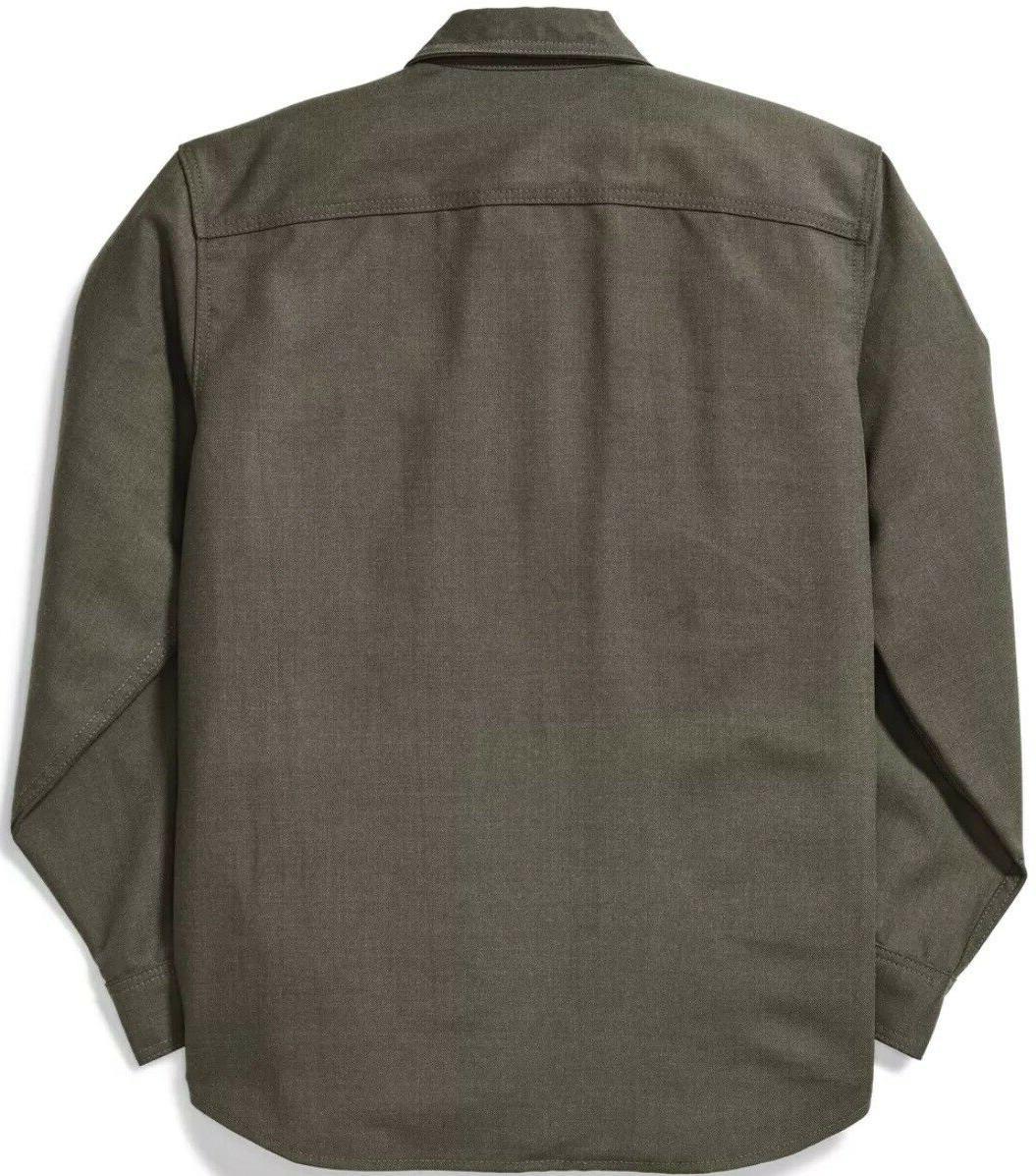 Filson Forestry Shirt Field Green 100% Wool, Men's S