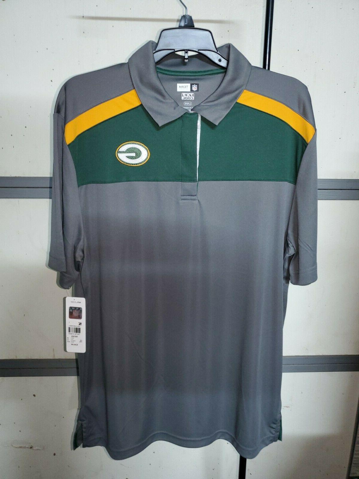 green bay packers men s golf shirt