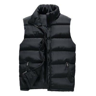 Men Down Body Sleeveless Jacket Clothing