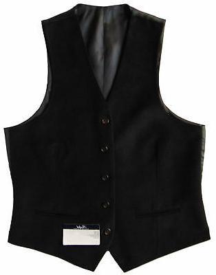 men s black velvet suit dress vest