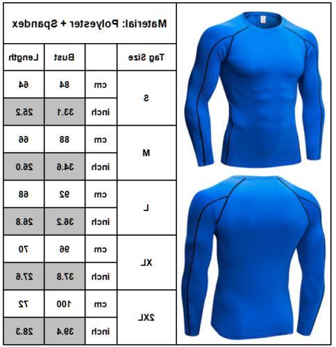 Men's Base Layer Sports Shirt