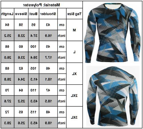 Men's Layer Top Sports Fitness Shirt