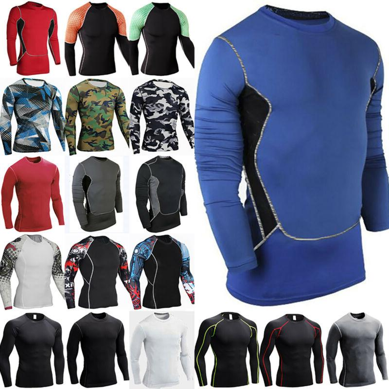 Men's Compression Layer Top Sports Fitness