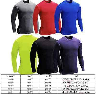 Men's Compression Top T-shirt Long Sleeve