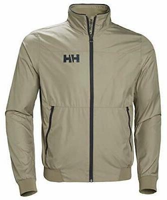men s crew windbreaker jacket x large