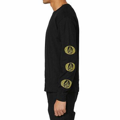 Volcom Men's Long Sleeve Black