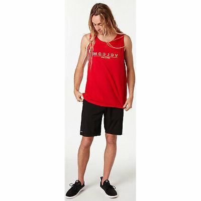 Volcom Men's Ninetyone Sleeveless Tank Shirt Clothing