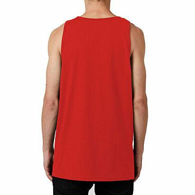Volcom Men's Tank Red Clothing