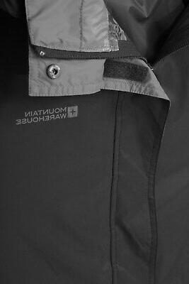 Mountain Rain Jacket Breathable Packaway