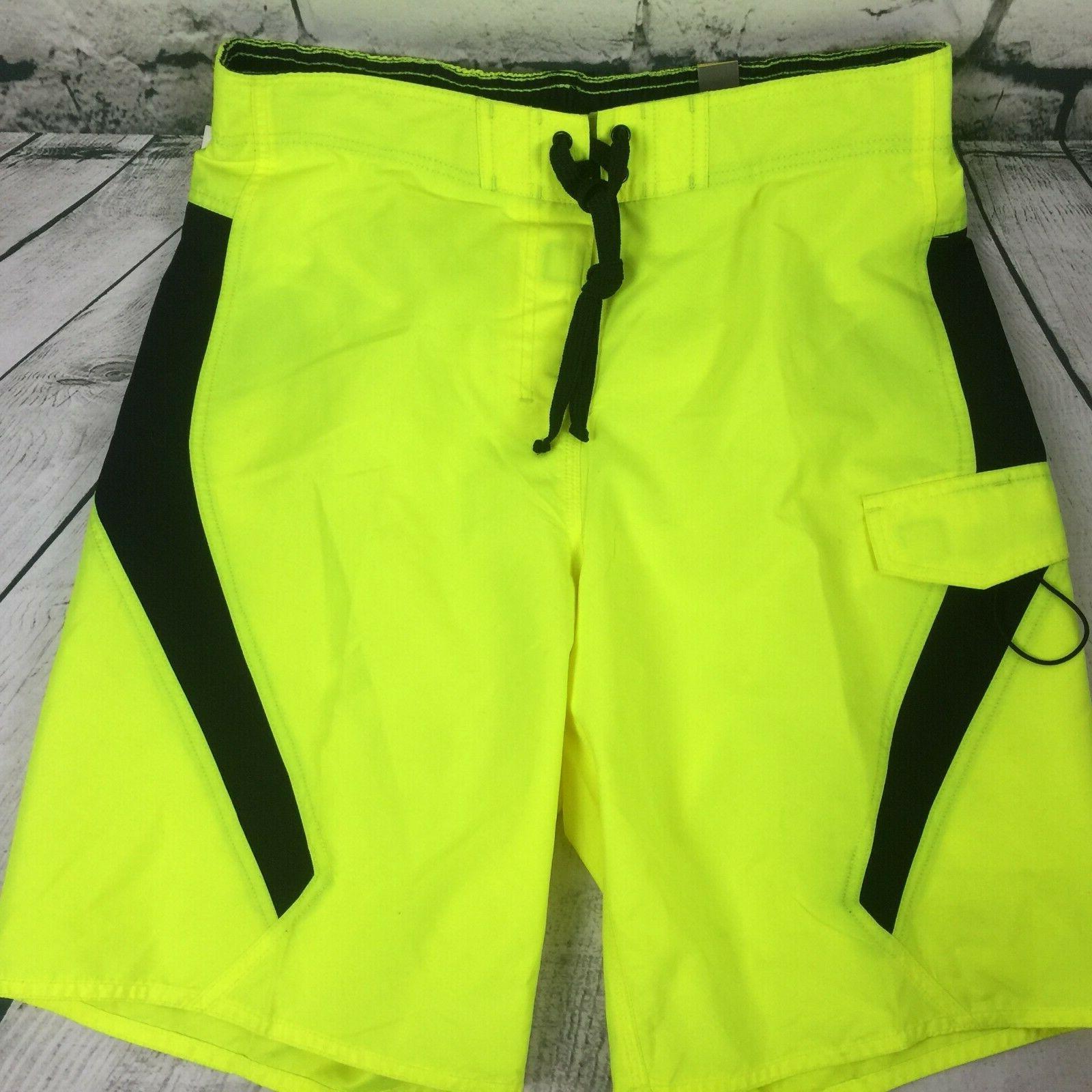 men s sz medium ocean beach neon