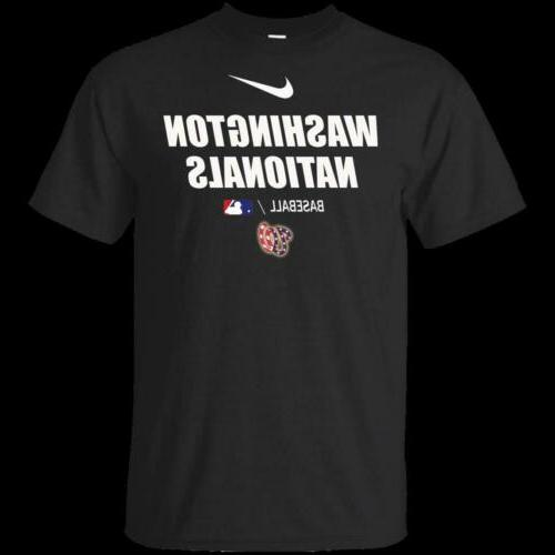 men s washington nationals shirt navy black