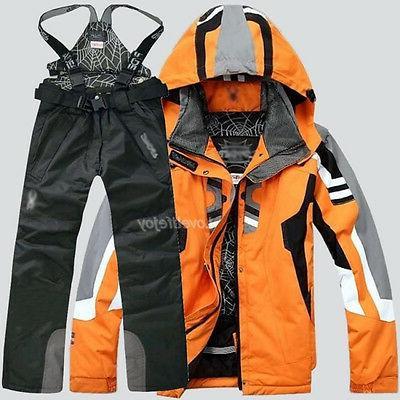Men's Winter Outdoor Coat Suit Jacket snowboard Clothing