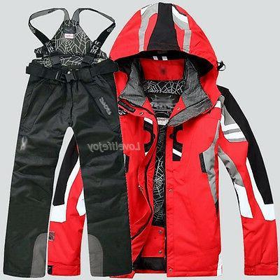 Men's Outdoor Coat + Pants Suit Clothing