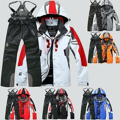 men s winter waterproof outdoor coat pants