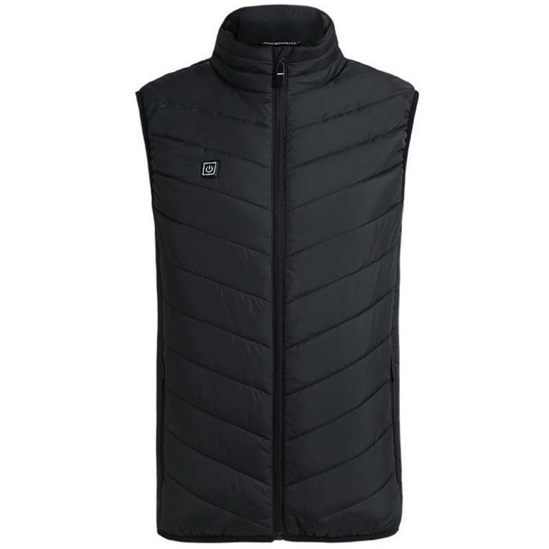 Mens Vest Jacket Clothes USB Heating Pad Warm