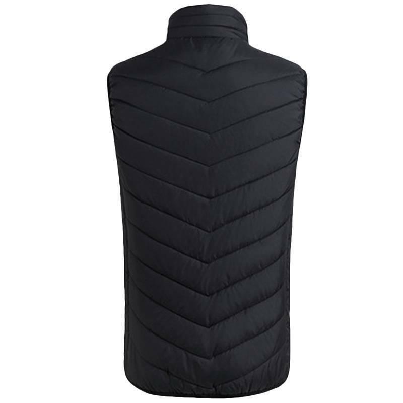 Mens Jacket Warm Heating Pad Warm