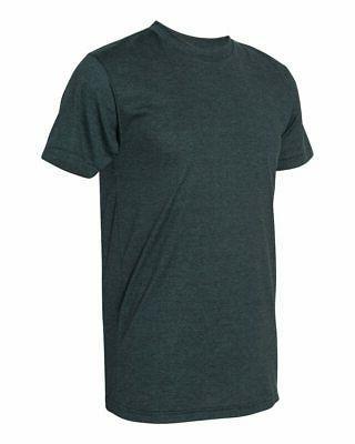 American Mens Slim Fit 50/50 Shirt Tee BB401W to