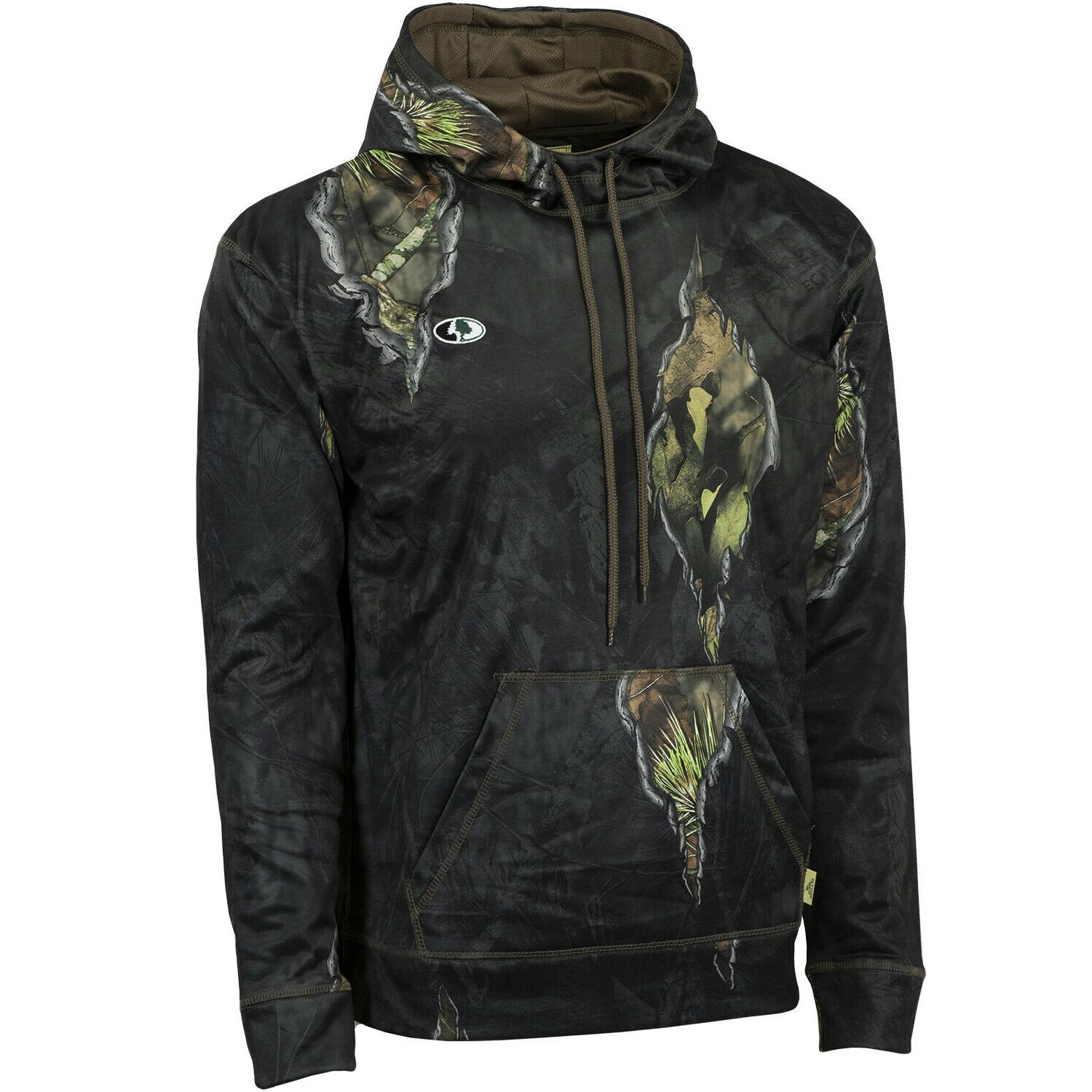Mossy Fleece Camo Hunting Clothes for