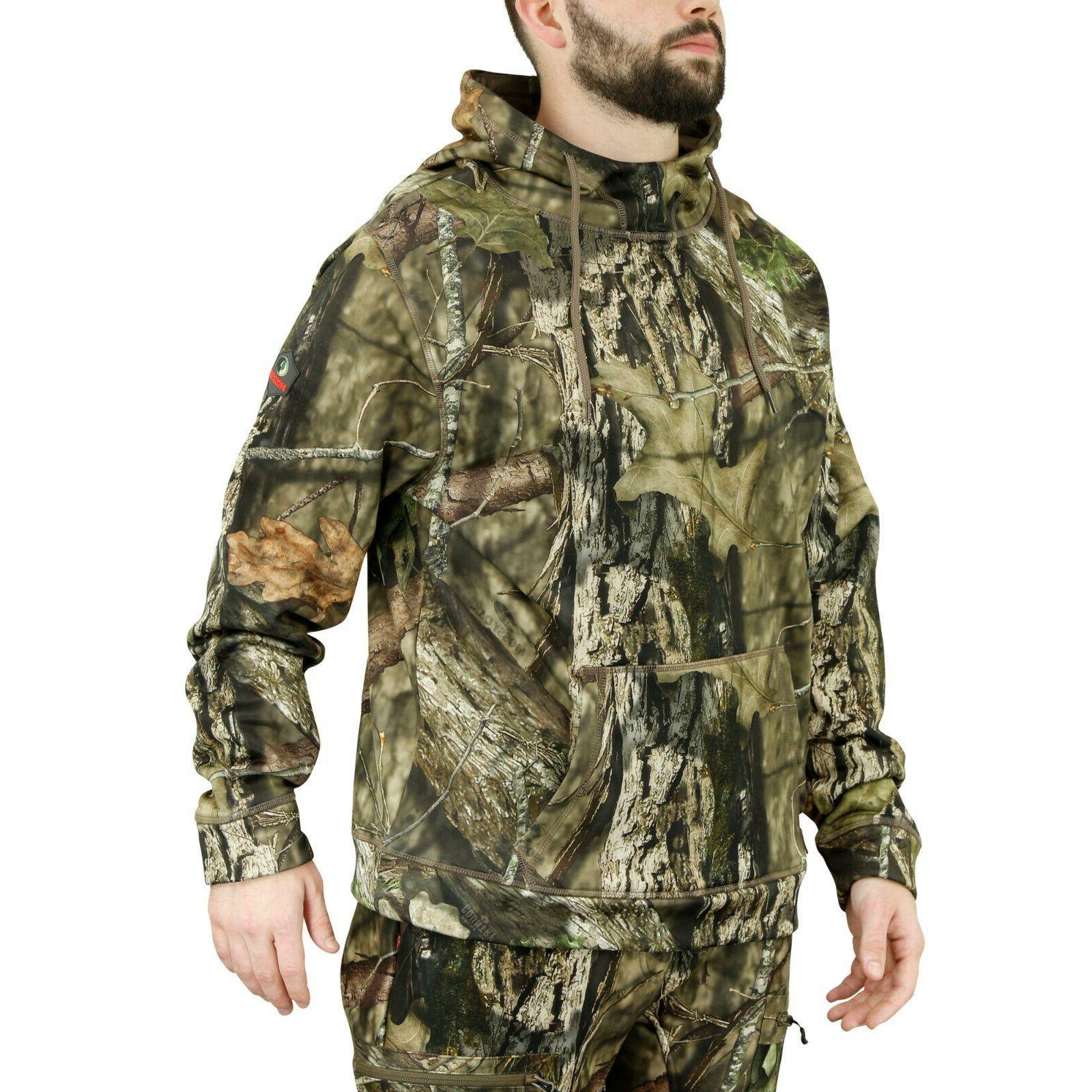 Mossy Fleece Hoodie, Hunting Clothes Men