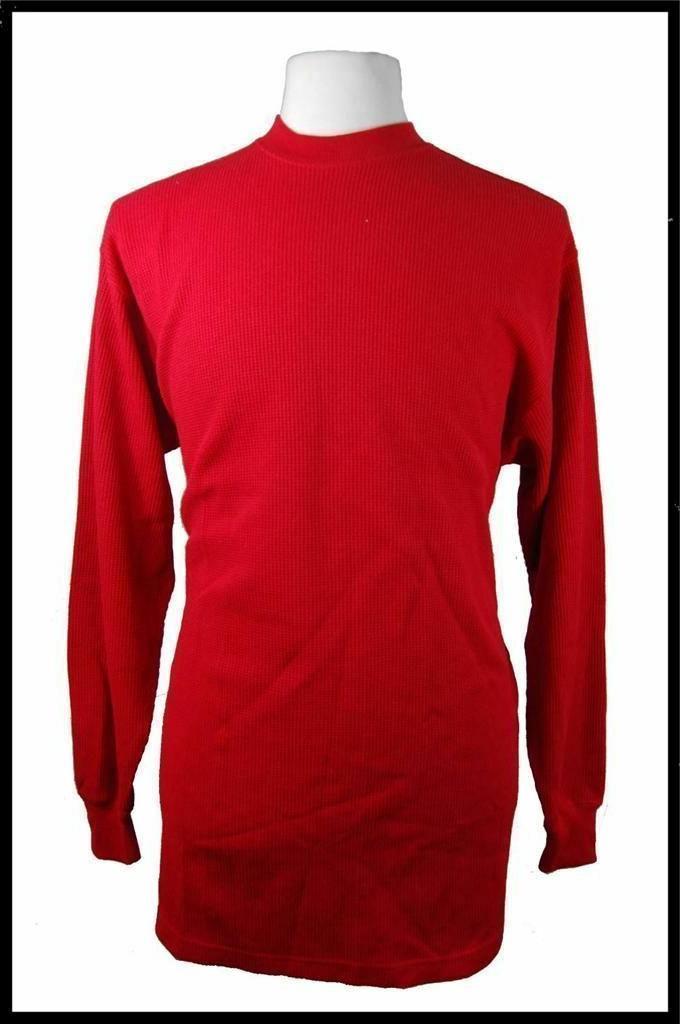 New Men's Access Apparel Long Warm Shirt