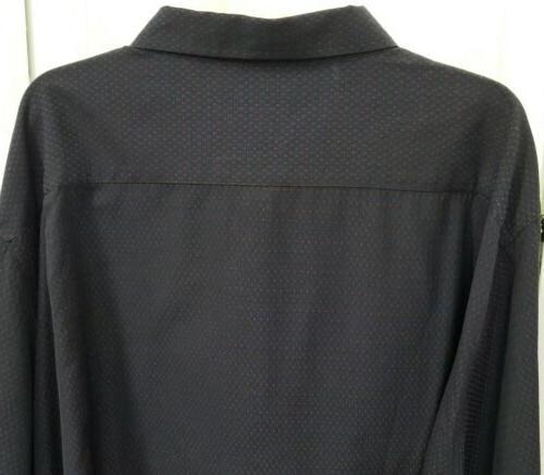 NWOT Button-Up Collared Shirt Blue