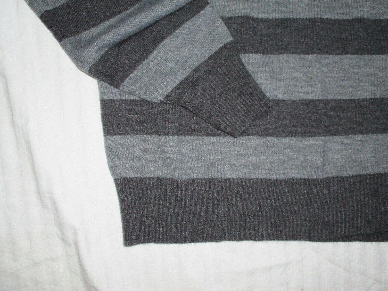 NWOT Denim & Pullover Sweater Stripes