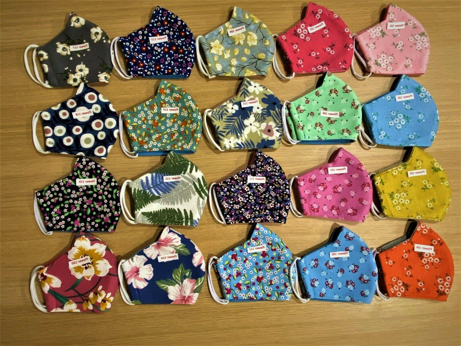 Professional Mask Cotton/Cloth/Fabric Women, Black