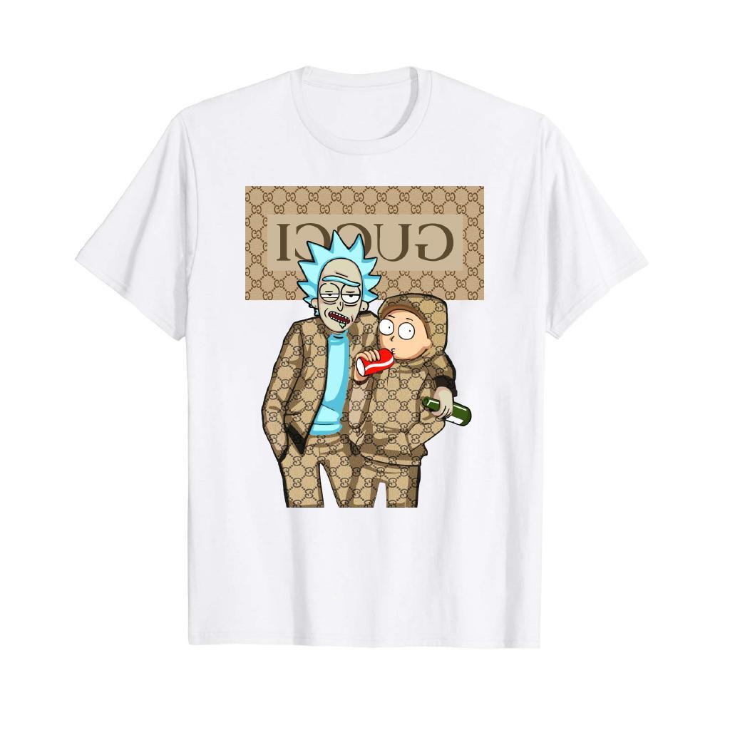 Rick And Morty Shirt Guc Graphic Tee T-shirts men's clothing