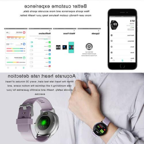smart watch exercise heart rate women's