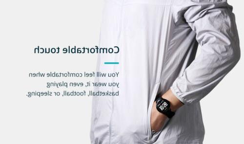 smart exercise heart monitor women's men's smartwatch