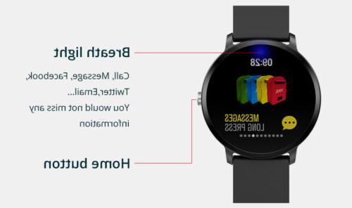 smart watch ip67 tracker exercise heart rate