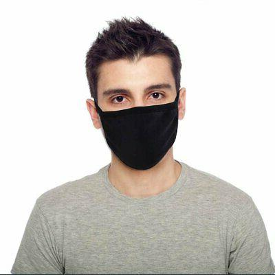 soft cotton face mask double layer fashionable