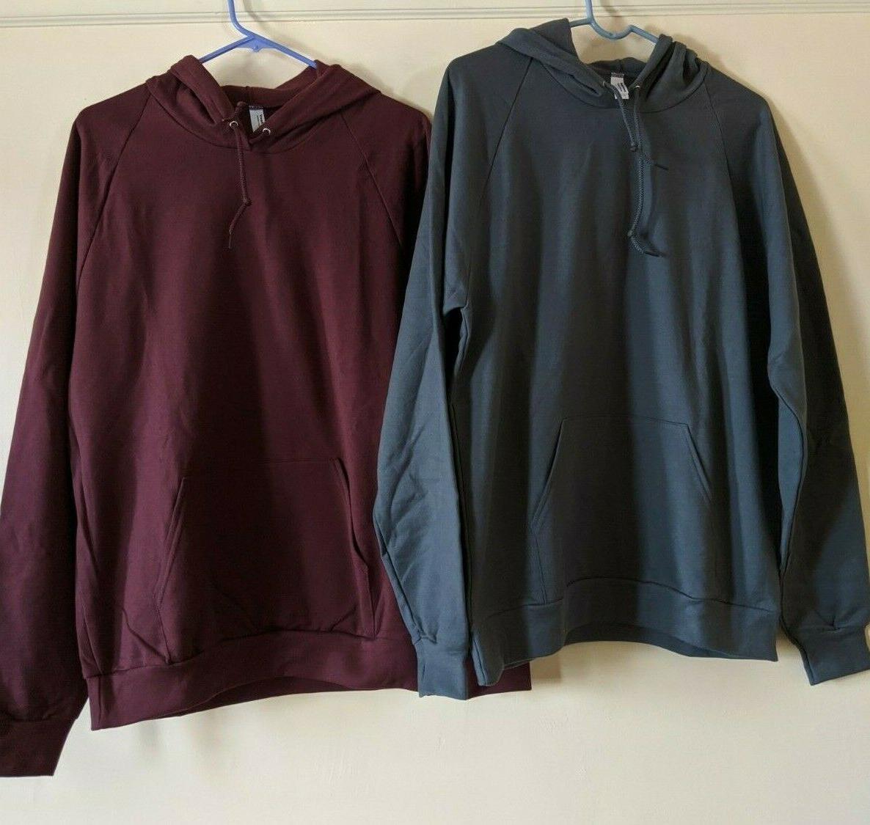 two men s california fleece collection hoodies