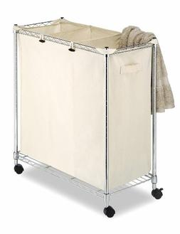 Whitmor Laundry Sorter - 3 Compartment - 31.8 Height x 29.9