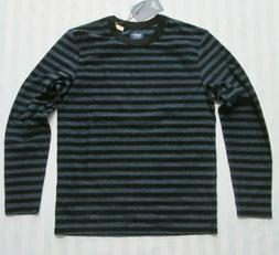 LEVI'S Made&Crafted Mens Blue/Black Long-Sleeved Terry-Cloth