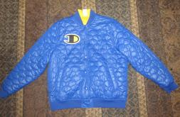 Champion LIFE Men's C Series Jacket Quilted Reversible Blue