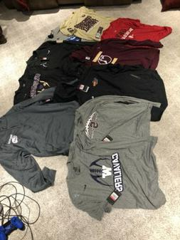Lot Of Men's Large Athletic Clothes