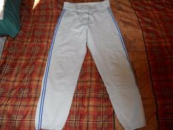 Man's Men's Adult Baseball Pants Gray Size 32 Powers Athleti