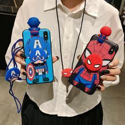 Marvel Iron Man KT Strap Holder Case fr iPhone 11 Pro XS Max