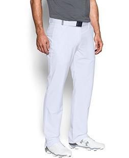 Under Armour Men's Match Play Golf Pants - Straight Leg, Whi