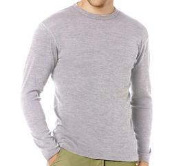 Men 100% Merino Wool Midweight Outdoor Sport Thermal Underwe