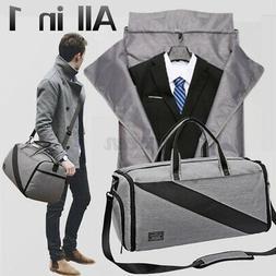 Men Clothes Travel Shoulder Bag Sport Garment Shoes Suit Han