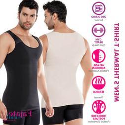 Men Colombian Thermal T-Shirt Slim Hombre Camiseta Gym Worko