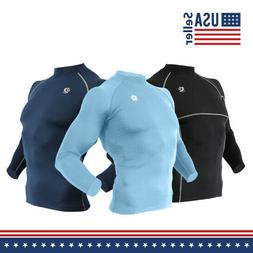Men Compression Base Layer Workout, Running, Gym, Fitness, F